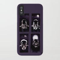 howl iPhone & iPod Cases featuring Howl by Zombie Rust