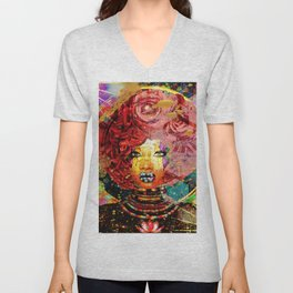 Flower girl 2.0 Unisex V-Neck