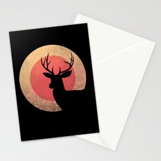 wild pale sun Stationery Cards
