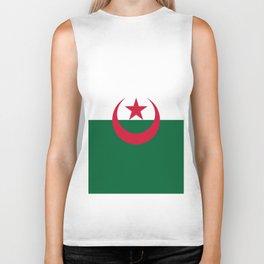 Flag Of Algeria Biker Tank