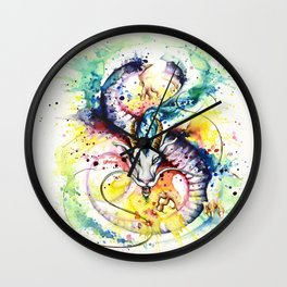 """""""Into the mirror"""" n°5 : The Dragon Wall Clock"""