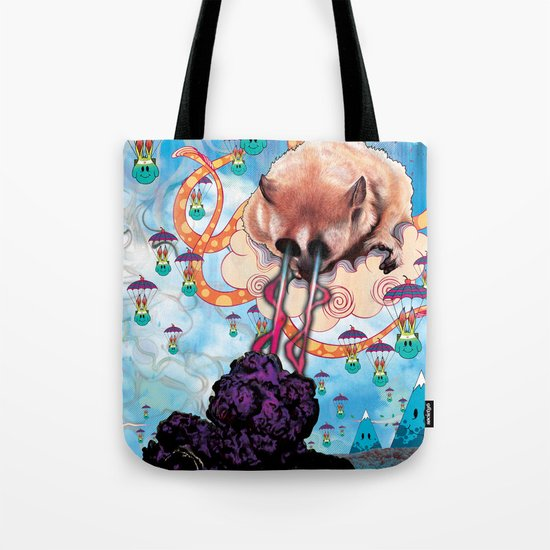 Attack of the Super Furry Animals! Tote Bag