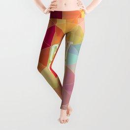 Geometric Colors Leggings