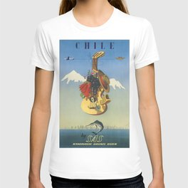 Vintage poster - Chile T-shirt