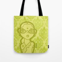 wasted rita Tote Bags featuring rita by SuPeR BReN
