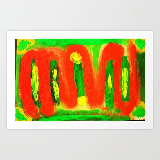 """M.V.U"" Art Print"