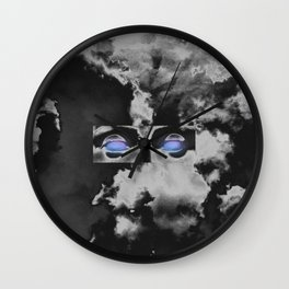 Rage Wall Clock