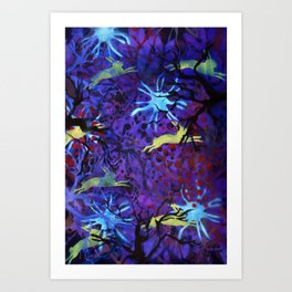 Dreamy nights Art Print