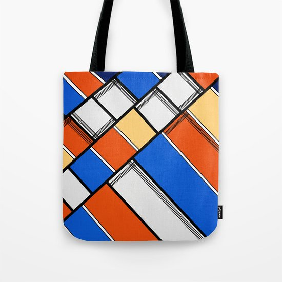 Lined I Tote Bag
