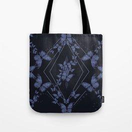 Insecta Pattern - Indigo Wash Tote Bag