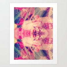 Surreal Selfie Art Print