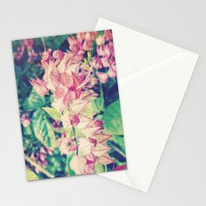 Yellow Tips | Beautiful Coral Vine Flower Photography Stationery Cards