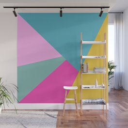 Geometric Color Block #11 Brights Wall Mural