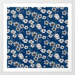 Meadow Wildflowers Art Print