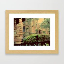 Haunted Mansion Framed Art Print