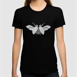 Beetle #5 B&W T-shirt