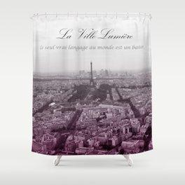 La Ville-Lumiére Shower Curtain