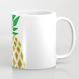 Pineapple Embroidery look T-shirt - cute, cool and awesome Coffee Mug