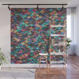 Colorful Geometric Pattern #08 Wall Mural