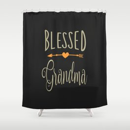 Blessed Grandma Shower Curtain