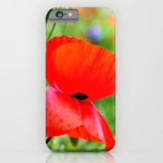 wild poppies iPhone 6s Slim Case