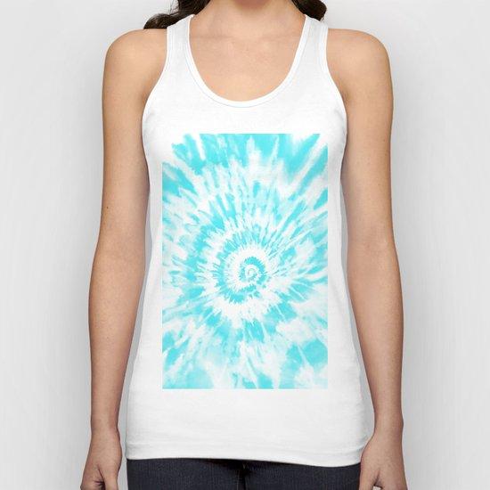 Light Sky Blue Tie Dye by chinhairdesigns