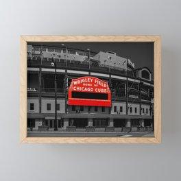 Read Red Framed Mini Art Print