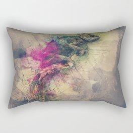 When i Dream of Chameleon Rectangular Pillow