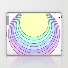 pastel rainbow Laptop & iPad Skin