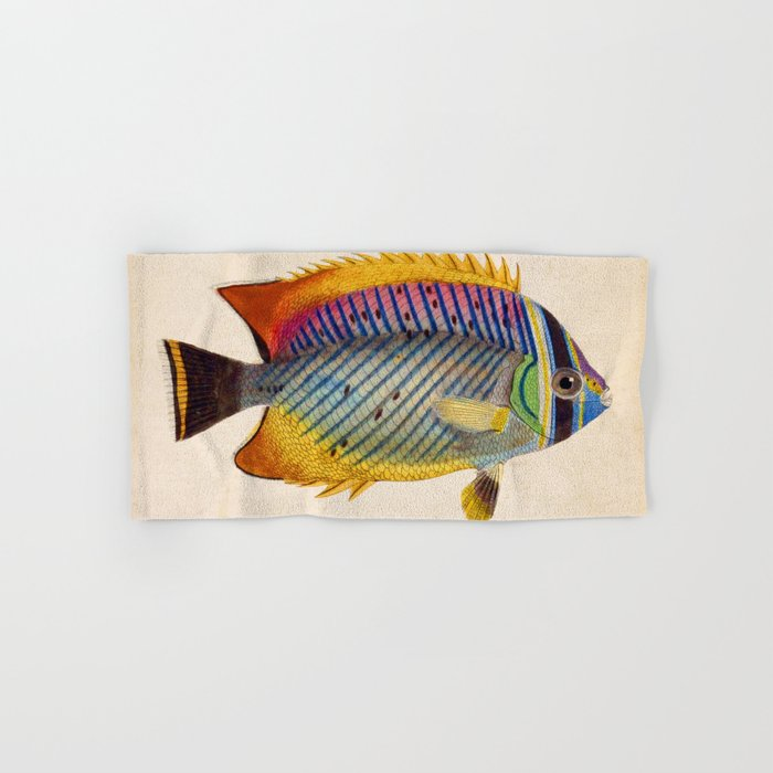 Blue Fish Hand & Bath Towel