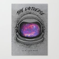 The universe mind Canvas Print