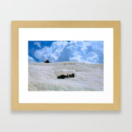 Pamukkale, Turkey Framed Art Print