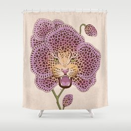 Wild Orchid Shower Curtain
