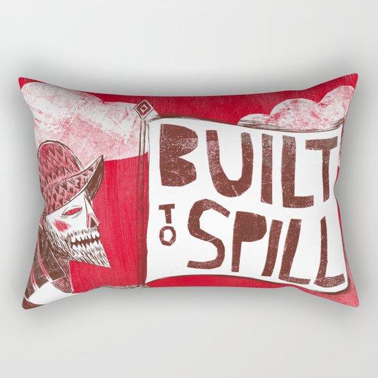 Built to Spill - Wonder Ballroom, Portland Rectangular Pillow