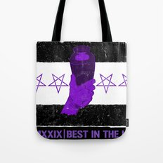 Best in the Urn (with tagline) Tote Bag