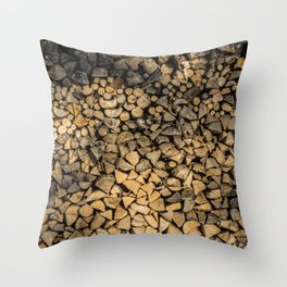 Need Wood? Throw Pillow