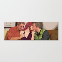 The Three Best Friends Canvas Print