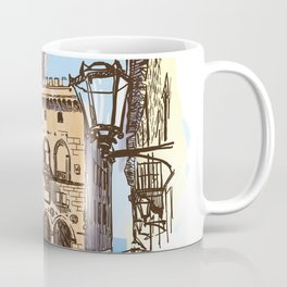 Sketches from Italy - San Marino Coffee Mug