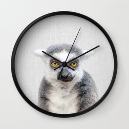 Lemur - Colorful Wall Clock
