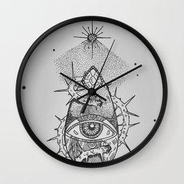 Light my way Wall Clock