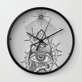 Light my way Wall Clock