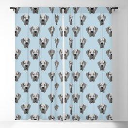 Great Dane Dog Portrait Blackout Curtain