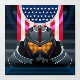 Pacific Rim v2 Canvas Print