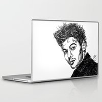 louis tomlinson Laptop & iPad Skins featuring Louis Tomlinson by Hollie B