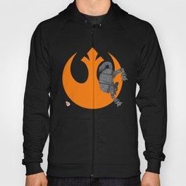Droid Eek! (orange) Hoody