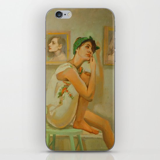 The Walls Have Ears iPhone & iPod Skin