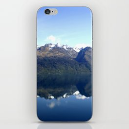 Lake Wakatipu Reflection iPhone Skin