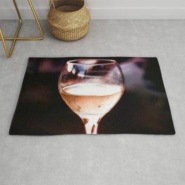 Wine Glass Reflection Rug