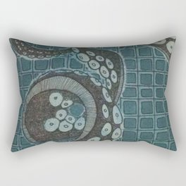 Underwater Tentacles Rectangular Pillow