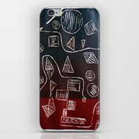 triforce iPhone & iPod Skins featuring Triforce by Lewis Lawton